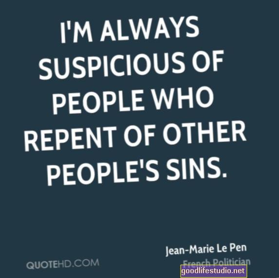 Siempre sospecho de los demás, incluidos mis propios hijos