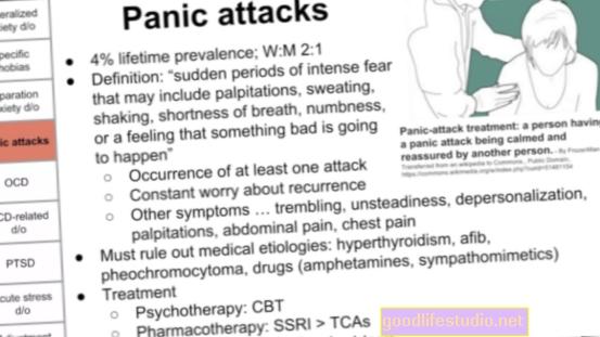 Úzkost, deprese, OCD a PTSD