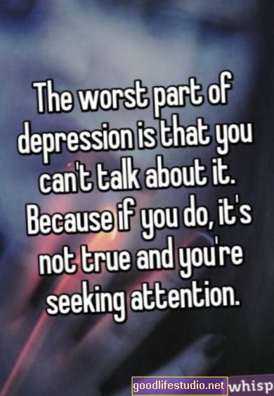 Uzmanību meklējoša depresija?