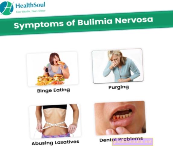 Bulimia nervosa simptomi