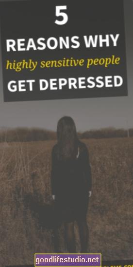 Deprimido y muy sensible