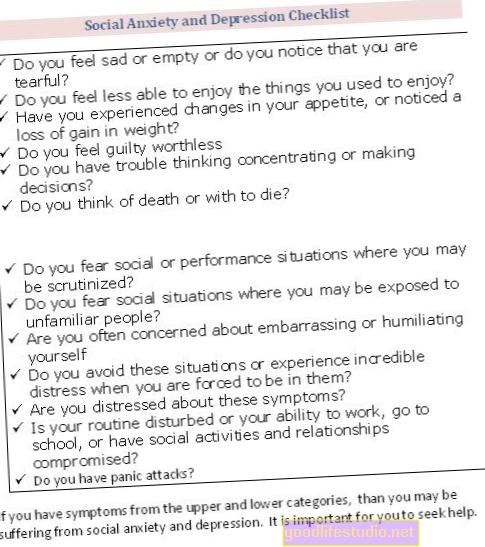 Depresión y ansiedad social