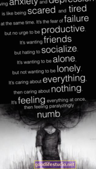 Депресия, безпокойство и страх от деменция поради стрес