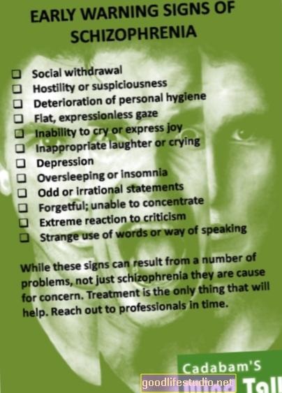 A skizofrénia korai jelei?