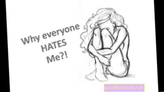 Každý mě nenávidí a já chci zemřít