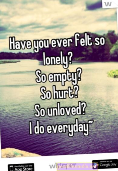 Sentirse deprimido, solo y con baja autoestima desde la adolescencia