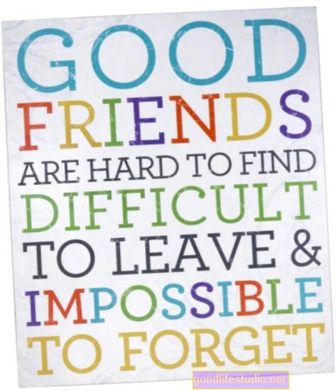Gerų draugų sunku rasti