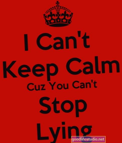 No puedo dejar de mentir