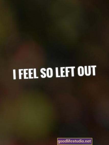 Me siento tan excluido que duele