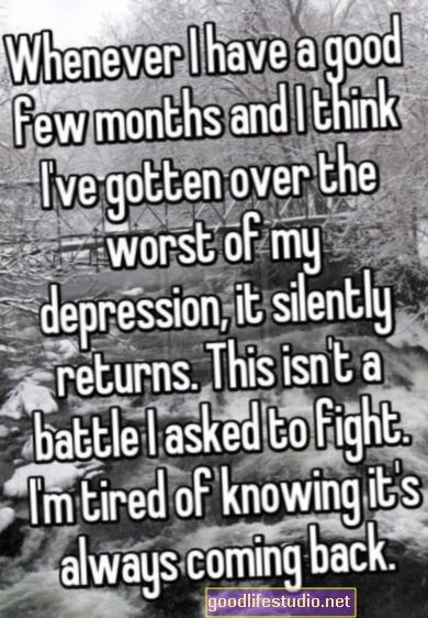 うつ病だと思う