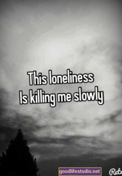 Cô đơn đang giết chết tôi