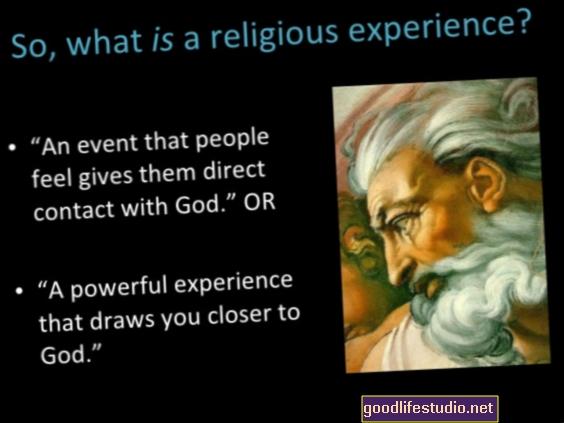 宗教体験や現実からの脱却?