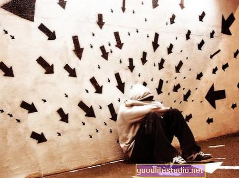 Szociális problémák, szorongás és paranoia