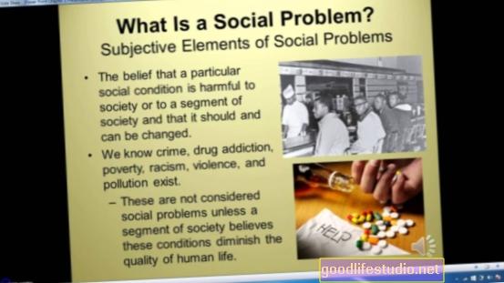 सामाजिक समस्याएं, अव्यवस्था और लत