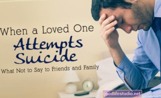 Розкажіть родині про спробу самогубства?