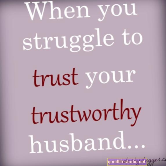 夫の信頼の問題と性的虐待の歴史