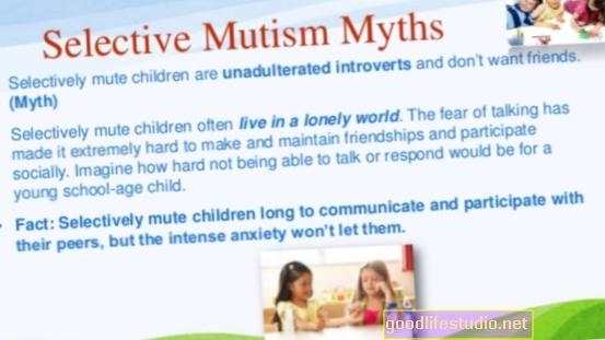 Ono što sam ja? Selektivni mutizam? Ne možete spavati? Lud? Stres? Anksioznost?