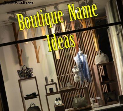 100 roztomilých butikových jmen