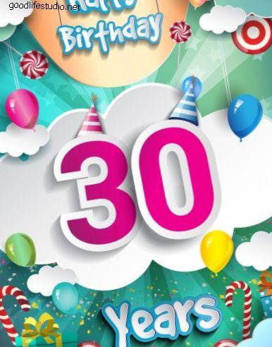 80 labākie 30. dzimšanas dienas hashtagi, teicieni un saukļi