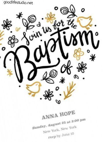 40 najboljih poruka krštenih kartica