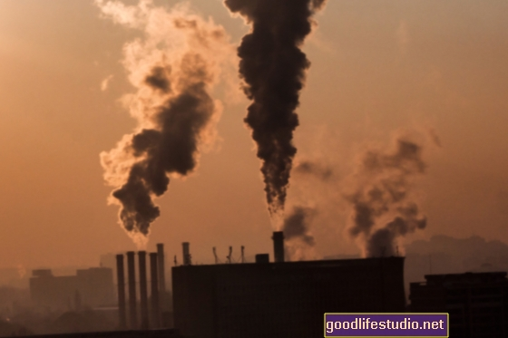 Oro tarša, susijusi su vaikų protine negalia