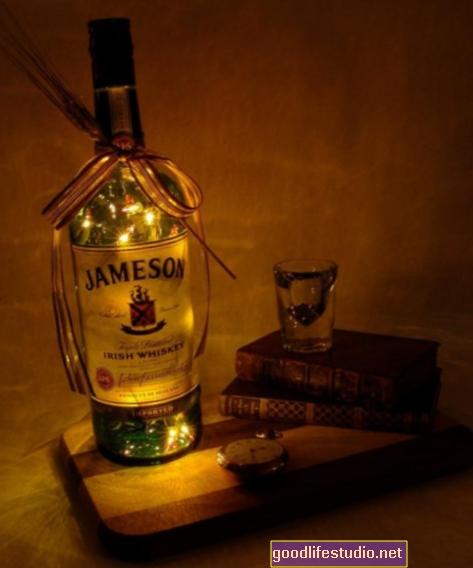 Alkohol osvětluje centra potěšení mozku