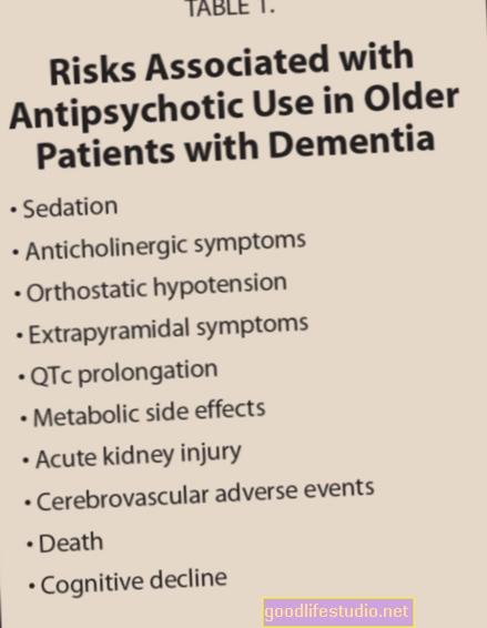 Antipsihotični lijekovi mogu naštetiti bolesnicima s demencijom