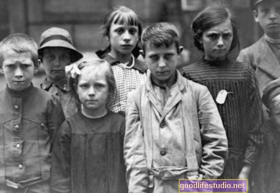 Děti z první světové války mrtvé měly kratší životy