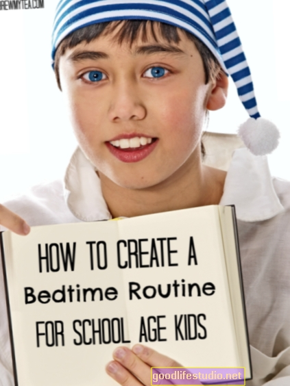 Rutina před spaním pomáhá dětem spát na dobré noci