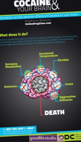Мозъчният протеин може да повлияе на пристрастяването към кокаина