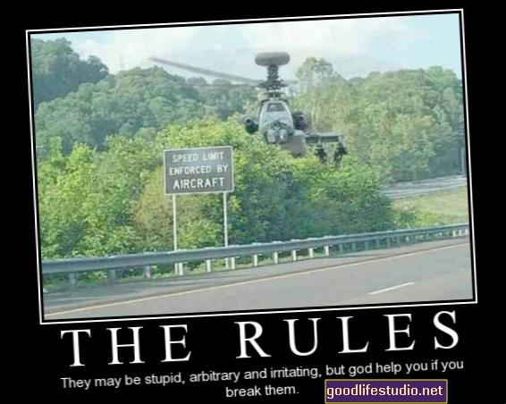 Porušení pravidel může být mocnou cestou