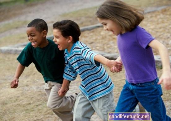 Bērnības pakļautība rasismam Uztraukuma, depresijas, ADHD risks