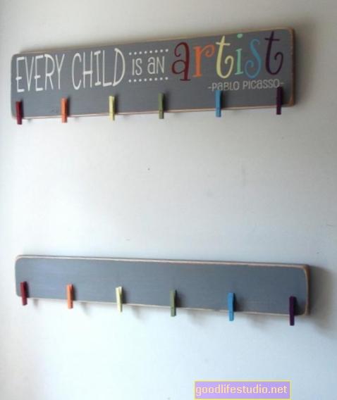 Děti mohou projevovat příznaky psychózy