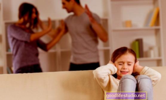 Los niños a menudo son testigos de violencia doméstica, con efectos secundarios