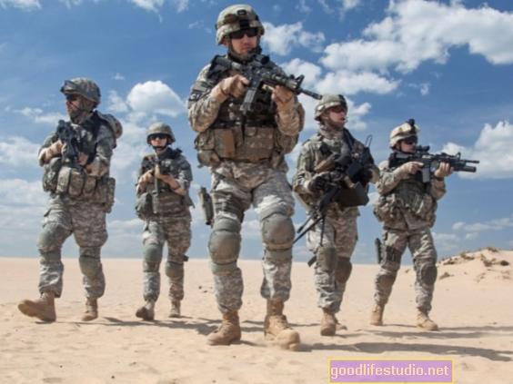 Kova su veteranais, kuriems kyla didesnė psichinės sveikatos problemų rizika