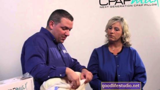 CPAP uzlabo izskatu cilvēkiem ar miega apnoja