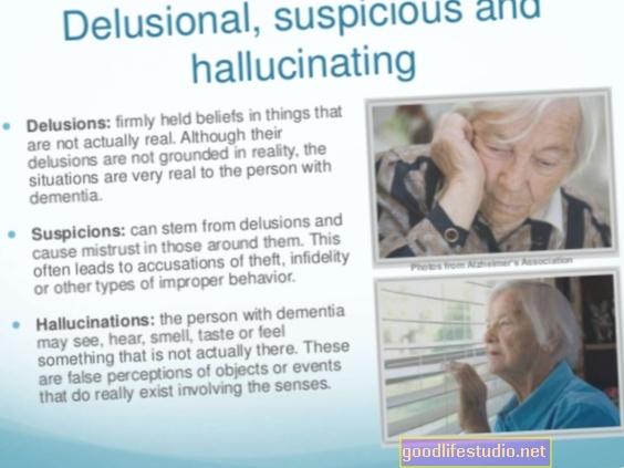 Las ideas delirantes de los pacientes con demencia pueden tratarse mejor con terapia