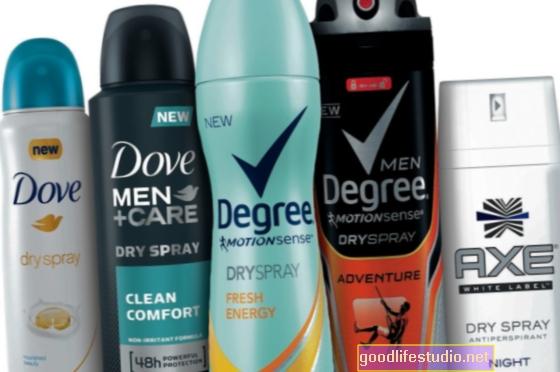 El desodorante puede hacer que un hombre parezca más masculino