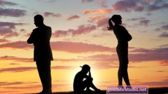 Los padres divorciados aumentan el riesgo posterior de accidente cerebrovascular en los hijos