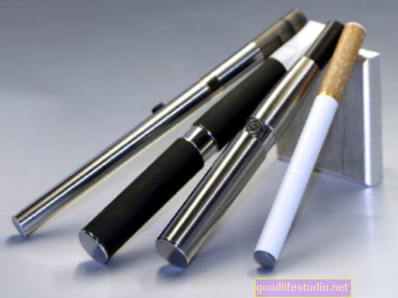 Los cigarrillos electrónicos son menos adictivos que los cigarrillos