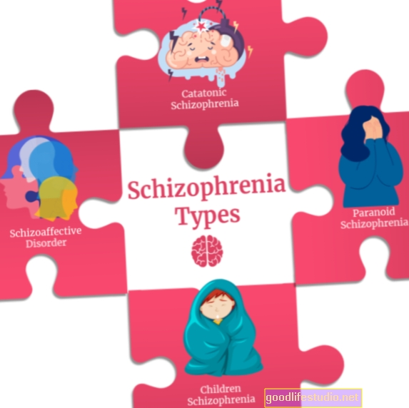 आठ विभिन्न प्रकार के सिज़ोफ्रेनिया