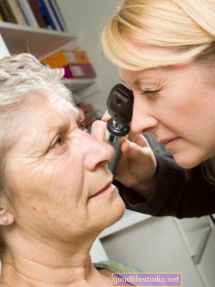 قد يساعد فحص العين في تشخيص الخرف الجبهي الصدغي