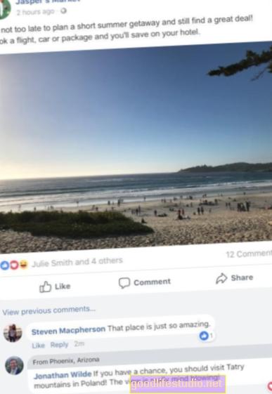 Gambar Facebook, Komen Bercakap dengan Majikan yang Berpotensi