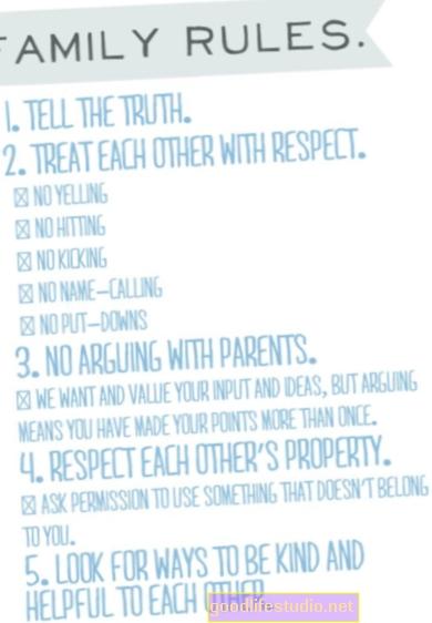 Las reglas familiares ayudan a los niños a aprender a comer sano y mantenerse activos