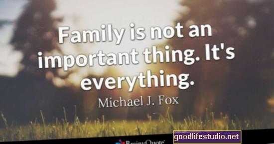 El apoyo familiar es importante cuando se vive con una enfermedad crónica