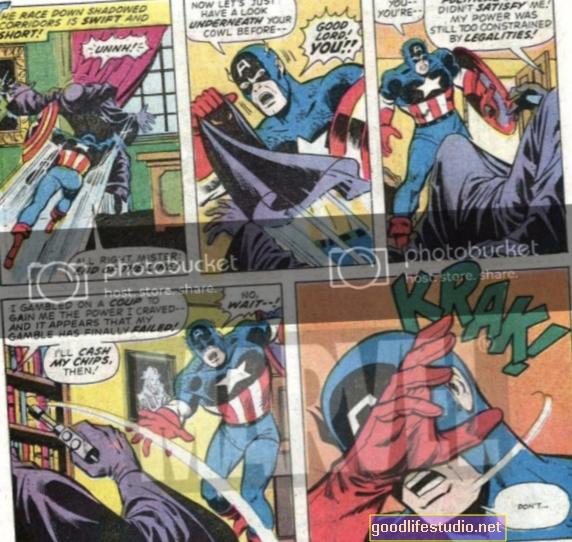 La fascination pour les super-héros peut conduire à l'agression chez les enfants