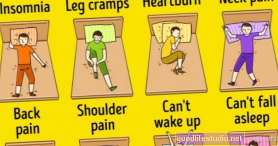 Labojiet bērnu miega problēmas pirms piecu gadu vecuma, lai iegūtu labāku pieredzi skolā
