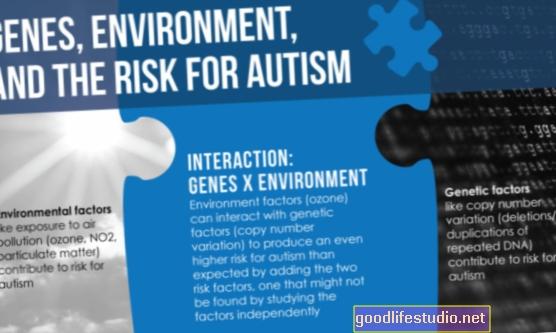 Генетичният риск за аутизъм може да бъде повишен чрез замърсяване на въздуха