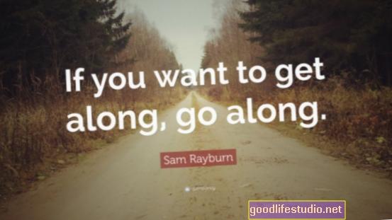 Andare avanti per andare d'accordo porta più o meno lo stesso