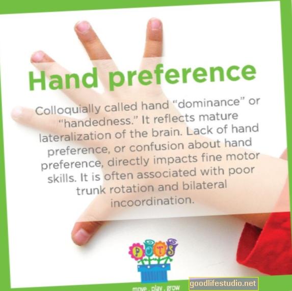 脳刺激による手の好みの影響